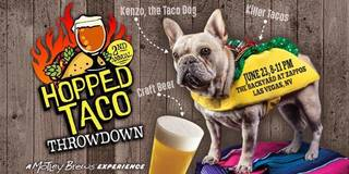 Vegas chefs competing in Hopped Taco Throwdown