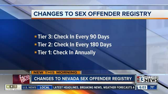 nevada sex offender law