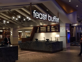 Palace Station's Feast Buffet now open overnight