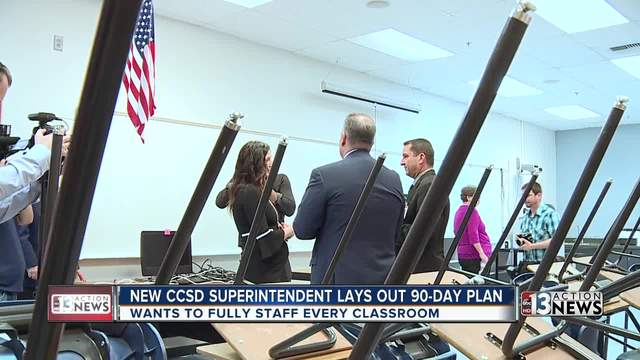 New CCSD Superintendent lays out entry plan