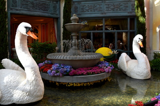 Bellagio conservatory highlights Italian summer