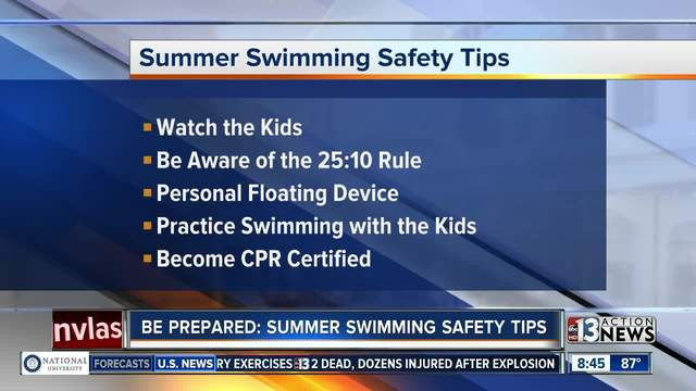 Tips for a safe summer by the pool from Life Time Athletic - KTNV ...