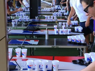 Topgolf hosts 4th of July beer pong tournament