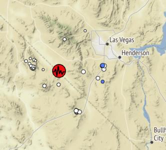 4 5 magnitude earthquake shakes Pahrump