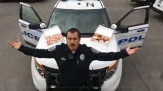 Police take on lip-sync challenge in Las Vegas