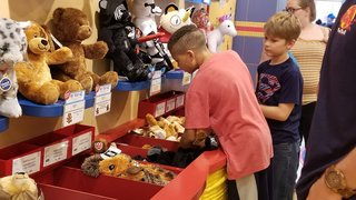 PHOTOS: Build-A-Bear 'Pay Your Age Day' in Vegas