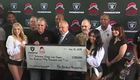 Raiders Foundation donates to Veterans Village