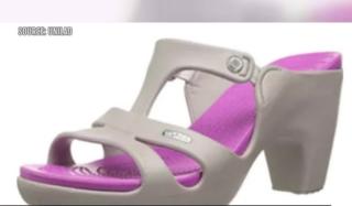High-heeled Crocs becoming all the rage