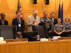 2 troopers honored at County Commission meeting