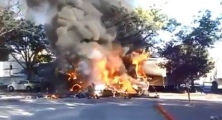 Miscommunication led to Sparks plane crash