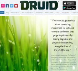 New app tests for marijuana, alcohol impairment