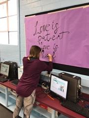 Budget cuts force teacher to get creative