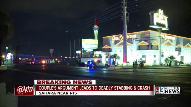 Police: Woman fatally stabs man in car