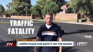Police use social media to raise road awareness