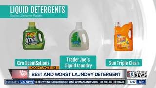 Consumers Reports ranks laundry detergents
