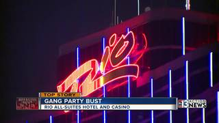Gang members arrested at local Vegas casino