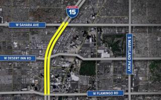 NDOT considers widening I-15 in Las Vegas
