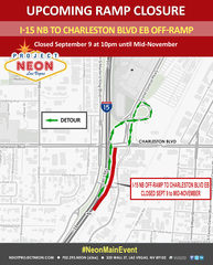 Traffic: Offramp closures in effect