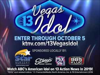 13 Vegas Idol: Enter the Contest
