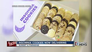 Insomnia Cookies now delivering in Las Vegas