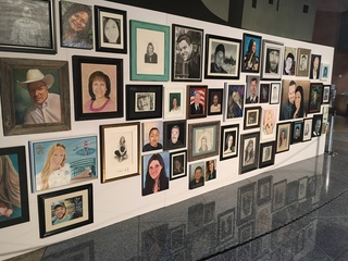 Artists create 58 portraits of 1 October victims