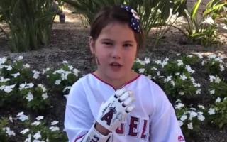 Hailey Dawson completes ballpark mission