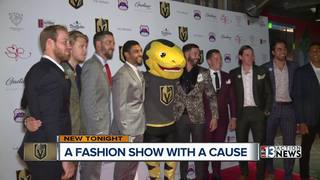 Golden Knights walk the runway for charity