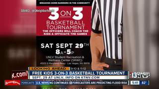 Kids invited to play ball with Vegas cops