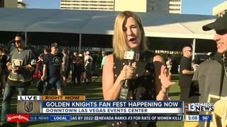 Golden Knights Fan Fest takes over DLVEC