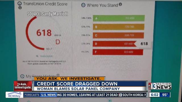 solar panel salesman ghosts las vegas senior credit score