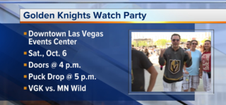 Vegas Golden Knights road game watch party