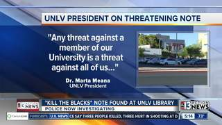 'Kill the blacks' note found at UNLV