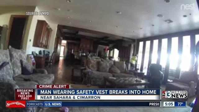 Police looking for intruder wearing safety vest