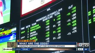 Vegas Golden Knights championship odds