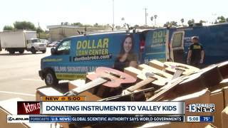 Kids getting instruments through new initiative