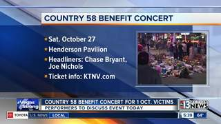 Country 58 concert to benefit 1 October victims