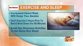 Sleep Tip: No Physical Activity