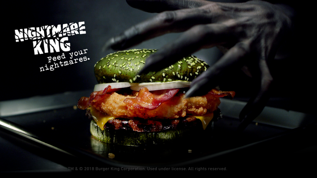 Burger King Introduces Nightmare King For Halloween