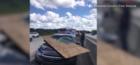 Close call for Florida driver