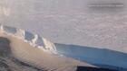 Singing ice shelf in Antarctica
