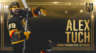 Golden Knights sign Alex Tuch to extension