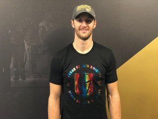 Golden Knights selling rainbow shirts Saturday