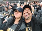 Golden Knights fans get engaged during home game