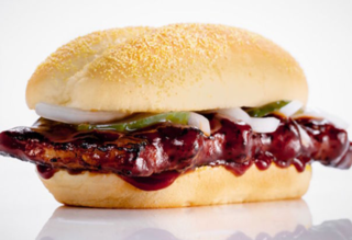 McDonald's McRib sandwich is back