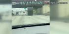 Video: Giant fiber spool on Houston highway