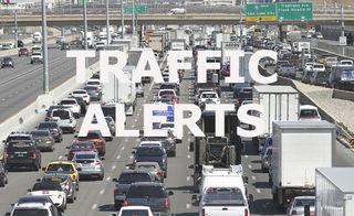 Traffic alerts for November 13, 2018