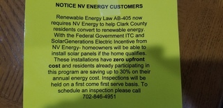 Groups ask Nevada to investigate energy notices