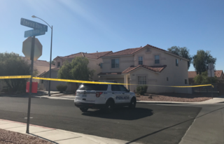 NLV child critically injured in shooting