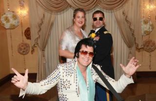 Las Vegas 'Marries the Military'