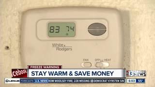 Saving money on heating costs